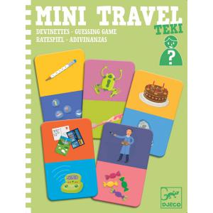 Djeco - DJ05373 - Mini Travel -  Teki (372774)