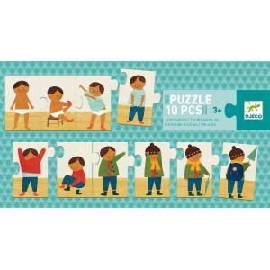 Djeco - DJ08178 - Puzzle duo-trio Puzzle Je m'habille (372796)