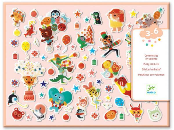 Stickers des petits - la fête