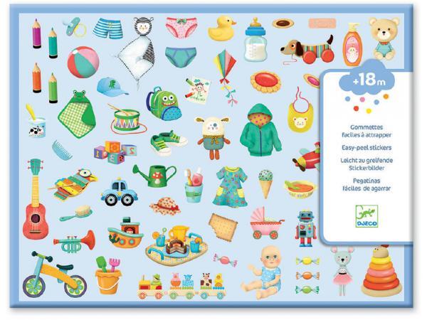 Gommettes et stickers - mon petit monde