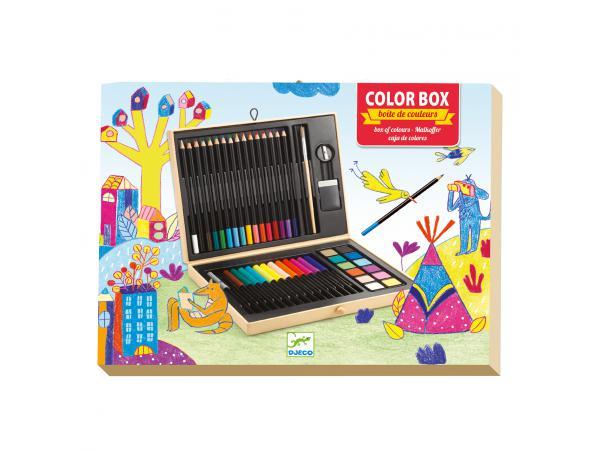 Les couleurs - pour les grands - boîte de couleurs *