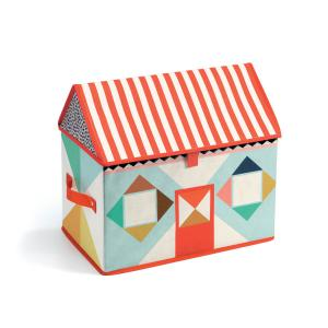 Djeco - DD04480 - Coffre à jouets Maison (373050)