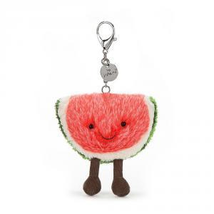 Jellycat - A4WBC - Amuseable Watermelon Bag Charm - 8 cm (373700)