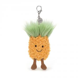 Jellycat - A4PBC - Amuseable Pineapple Bag Charm - 10 cm (373708)