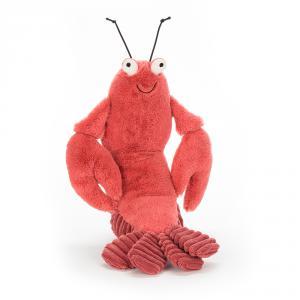 Jellycat - LOB2L - Peluche homard Larry - L = 10 cm x l = 9 cm x H =27 cm (373812)