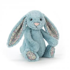 Jellycat - BL6AQ - Blossom Aqua Bunny Small - 18  cm (373936)