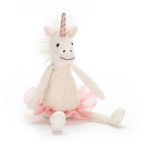 Jellycat - DDS6U - Dancing Darcey Unicorn Small (373944)