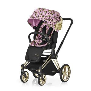 Cybex - 518001313 - Poussette Priam siège de luxe rose-Cherub by Jeremy Scott (374212)