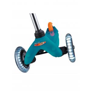 Micro - MM0285 - Trottinette Mini Micro Classic - Aqua - LED (375516)
