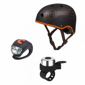 Micro - AC2076 - Kit de Sécurité Noir et Orange - Taille S (48 à 52 cm) (375544)