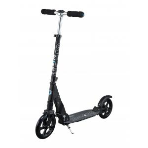 Micro - SA0156 - Trottinette Suspension Scooter Black  - PU 200mm (375580)