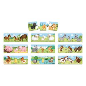 Janod - J02710 - Jeu d'association - puzzle trionimo 30 pièces (375908)