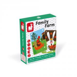 Janod - J02756 - Jeu de 7 familles family farm (375998)
