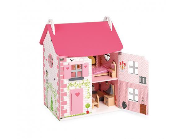Maison de poupées mademoiselle