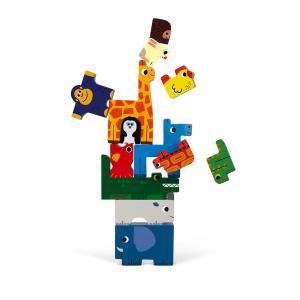 Janod - J07091 - Jeu d'équilibre et puzzle animaux (376260)