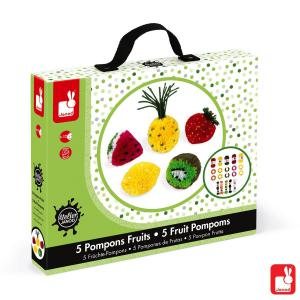 Janod - J07776 - Pompons fruits (376334)