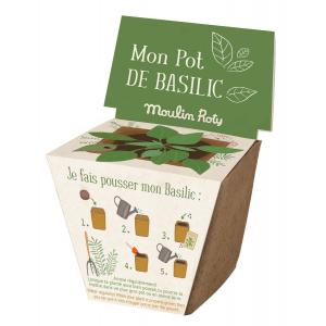 Moulin Roty - 712381 - Pot de graines basilic Le jardin du Moulin (377340)