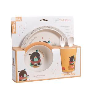 Moulin Roty - 665231 - Set vaisselle ocre Les jolis trop beaux (377542)