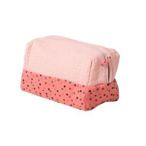 Moulin Roty - 665138 - Trousse de toilette rose Les Jolis trop beaux (377566)