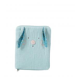 Moulin Roty - 665081 - Protège carnet de santé lapin bleu Les Jolis trop beaux (377604)
