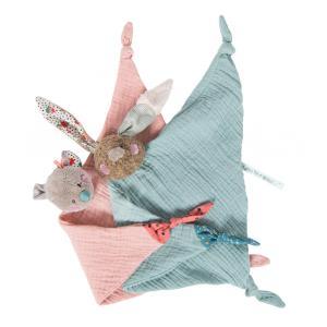 Moulin Roty - 665018 - Doudou lange souris Les Jolis trop beaux (377718)