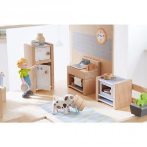 Haba - 303838 - Little Friends – Meubles pour maison de poupée Cuisine (378028)