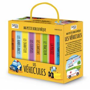 Sassi - 606091 - Livre Ma petite Bibliothèque - Les Véhicules (378702)