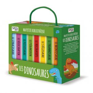 Sassi - 604844 - Livre Ma petite Bibliothèque - Les Dinosaures (378704)