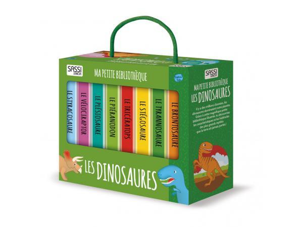 Livre ma petite bibliothèque - les dinosaures