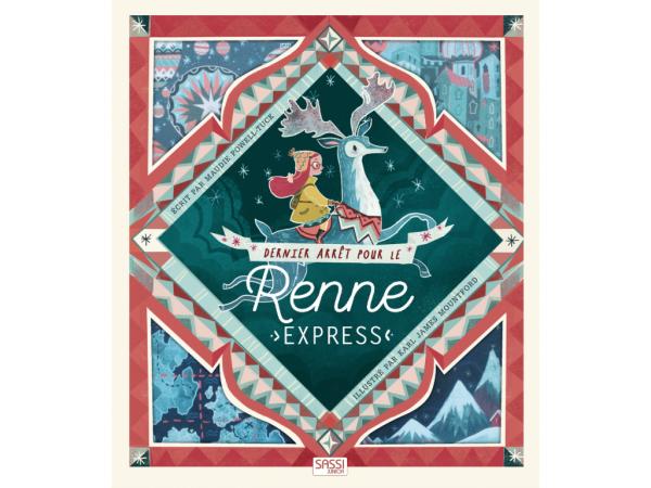 Livre dernier arret pour le renne express - editions sassi