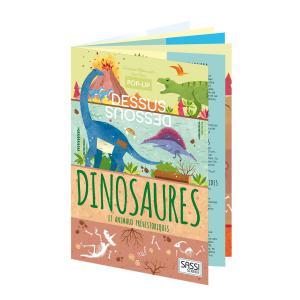 Sassi - 606978 - Pop-up Dessus-Dessous - Dinosaures (378824)