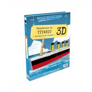 Sassi - 605711 - Puzzle 3D Voyage, découvre, explore - Le Titanic (378846)