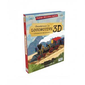 Sassi - 604363 - Puzzle 3D Voyage, découvre, explore - La Locomotive (378850)