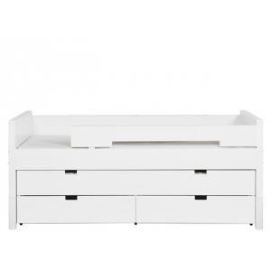 Bopita - 57014611 - Lit compact 90X200 COMBIFLEX blanc (378910)