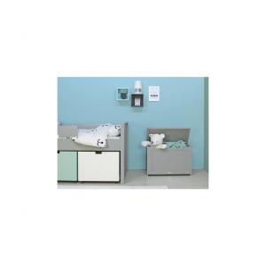 Bopita - 520096 - Coffre à jouets MIX & MATCH gris pure (379348)