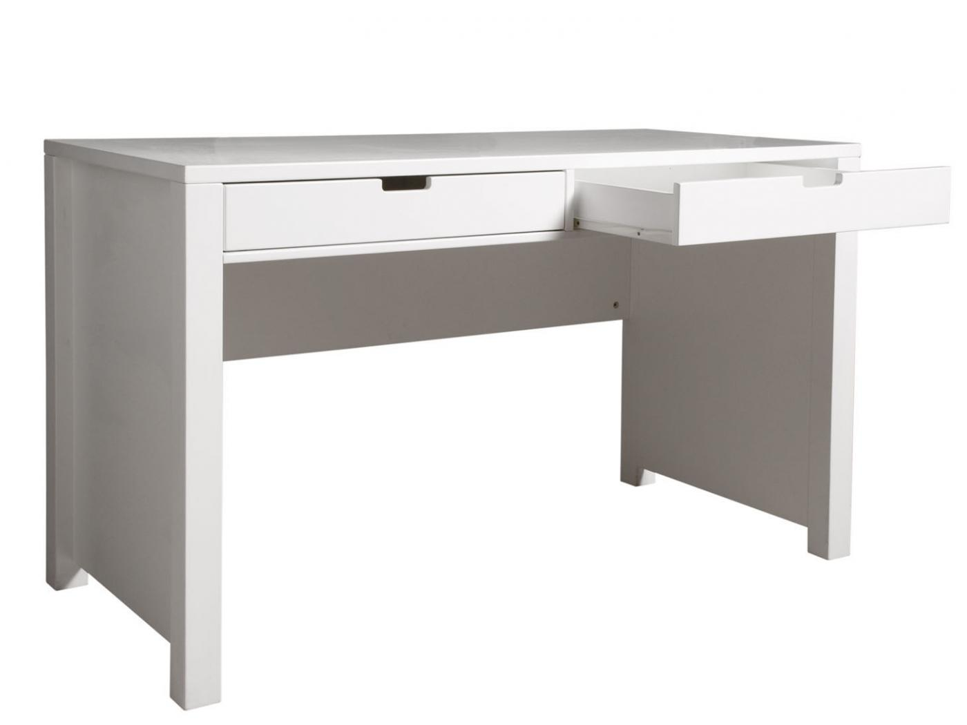 bopita bureau mix match blanc avec 2 tiroirs. Black Bedroom Furniture Sets. Home Design Ideas
