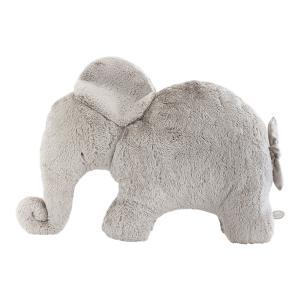Dimpel - 885482 - Oscar éléphant décoration 82 cm - beige-gris (379560)