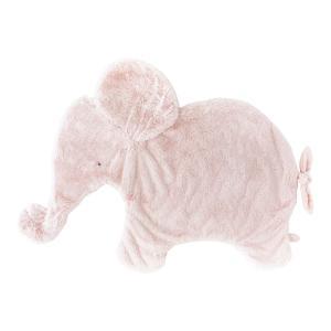Dimpel - 885053 - Oscar éléphant couverture calin 82 cm - rose (379588)