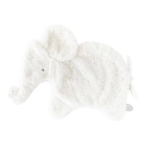 Dimpel - 885235 - Oscar doudou éléphant 42 cm - blanc (379604)