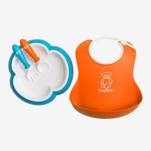 Babybjorn - 078082 - Ensemble Repas Bébé Orange-Turquoise (379706)