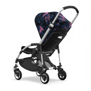Bugaboo - BU216 - Nouvelle poussette Bee5 capote Birds chassis alu (379734)
