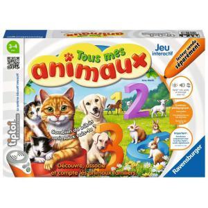 Ravensburger - 00838 - Jeux éducatifs Tiptoi - Tous mes animaux (379788)