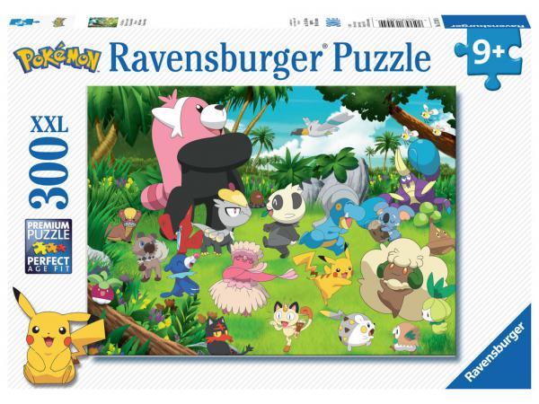 Puzzle 300 pièces xxl - pokémon sauvages