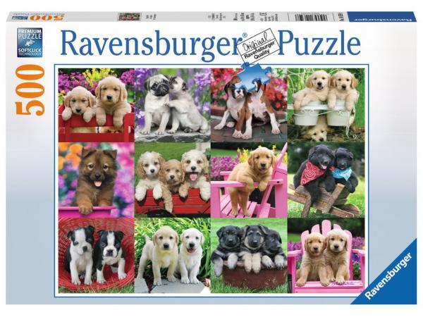 Puzzle 500 pièces - les copains