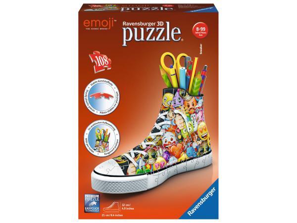 Puzzle 3d sneaker - sneaker emoji