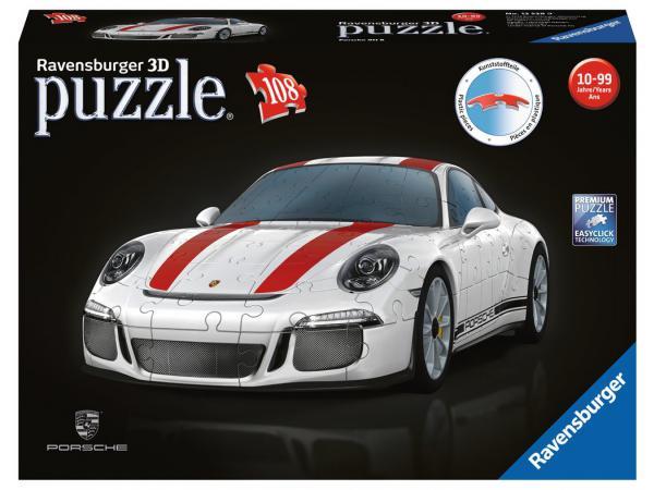 Puzzle 3d building - véhicules - porsche 911