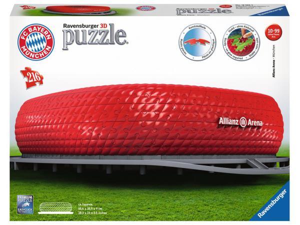 Puzzle 3d building - collection maxi - allianz arena