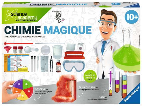Jeux scientifiques - chimie magique