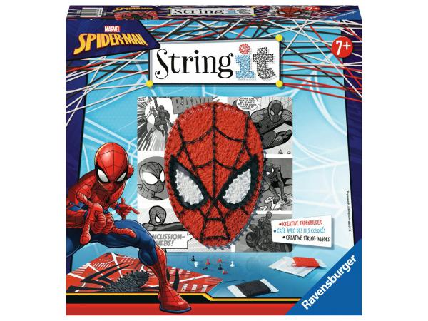 Jeux créatifs - string it midi: spider-man, marvel