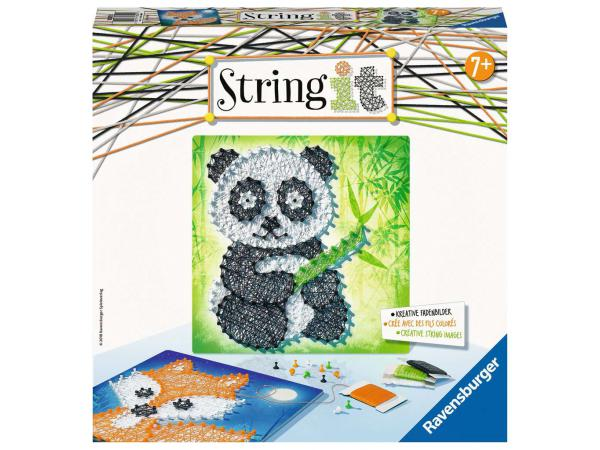 Jeux créatifs - string it midi: panda et fox